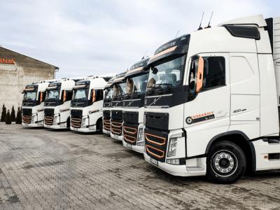 Flota pojazdów ciężarowych Turbańscy 0