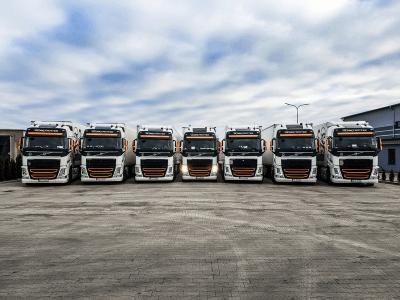 Flota pojazdów ciężarowych Turbańscy 1