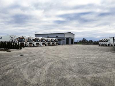 Flota pojazdów ciężarowych Turbańscy 2