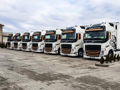 Flota pojazdów ciężarowych Turbańscy 3